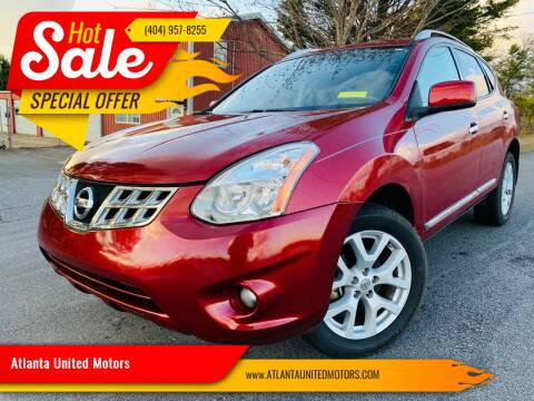 2011 Nissan Rogue for sale at Atlanta United Motors in Buford GA