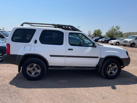 2003 Nissan Xterra for sale at PYRAMID MOTORS - Fountain Lot in Fountain CO