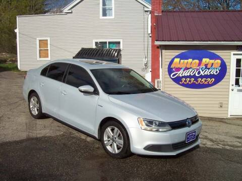 2013 Volkswagen Jetta for sale at Auto Pro Auto Sales-797 Sabattus St. in Lewiston ME