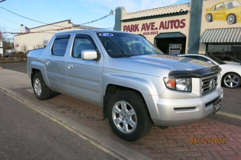 2007 Honda Ridgeline for sale at PARK AVENUE AUTOS in Collingswood NJ