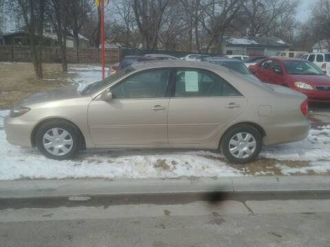 2002 Toyota Camry for sale at D & D Auto Sales in Topeka KS