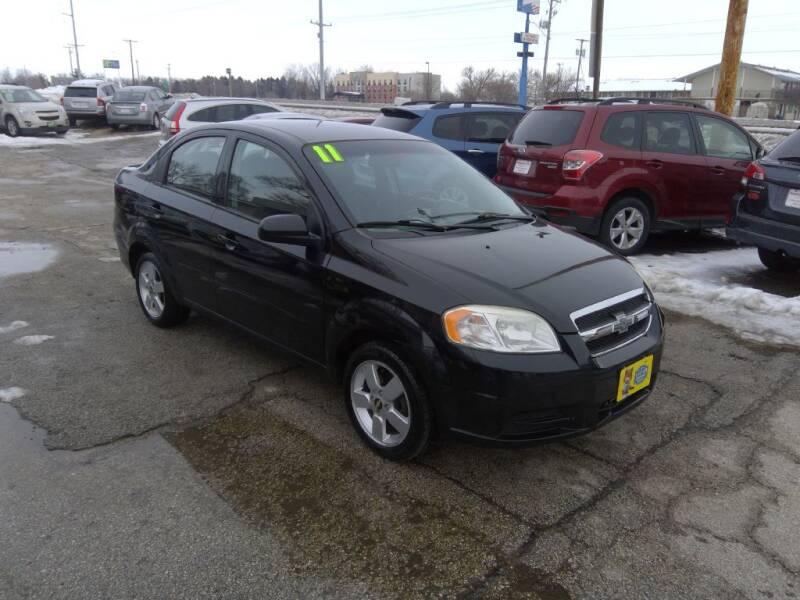 2011 Chevrolet Aveo for sale at Regency Motors Inc in Davenport IA