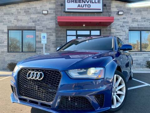 2014 Audi A4 for sale at GREENVILLE AUTO in Greenville WI