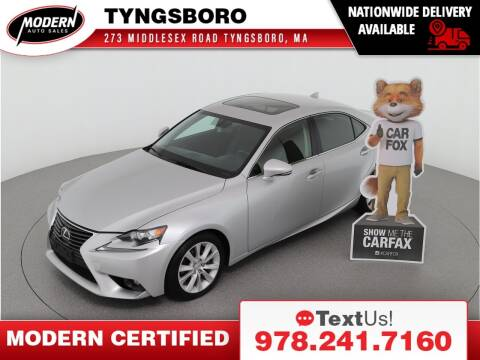 2015 Lexus IS 250 for sale at Modern Auto Sales in Tyngsboro MA