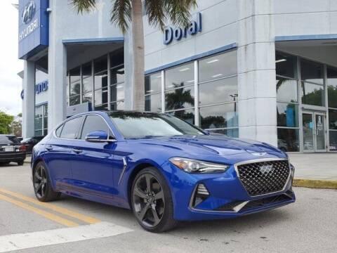 2019 Genesis G70 for sale at DORAL HYUNDAI in Doral FL