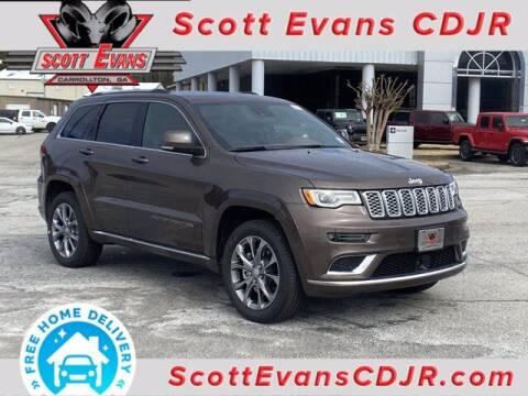 2021 Jeep Grand Cherokee for sale at SCOTT EVANS CHRYSLER DODGE in Carrollton GA