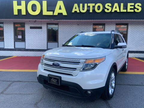 2013 Ford Explorer for sale at HOLA AUTO SALES CHAMBLEE- BUY HERE PAY HERE - in Atlanta GA
