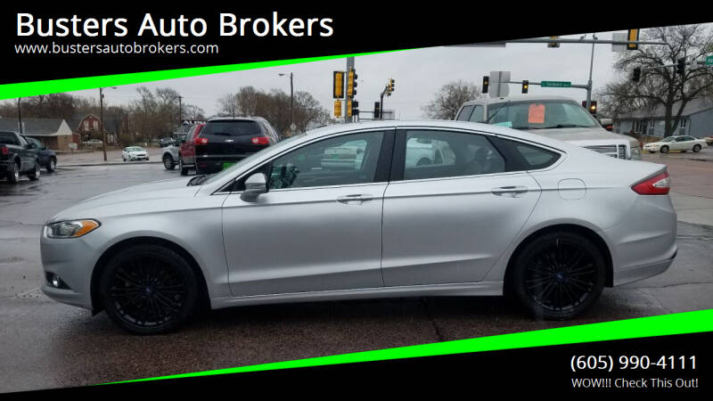 2013 Ford Fusion for sale at Busters Auto Brokers in Mitchell SD
