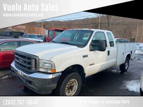 2003 Ford F-350 Super Duty for sale at Vuolo Auto Sales in North Haven CT