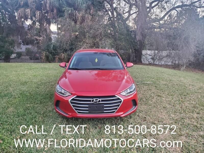 2017 Hyundai Elantra for sale at Florida Motocars in Tampa FL