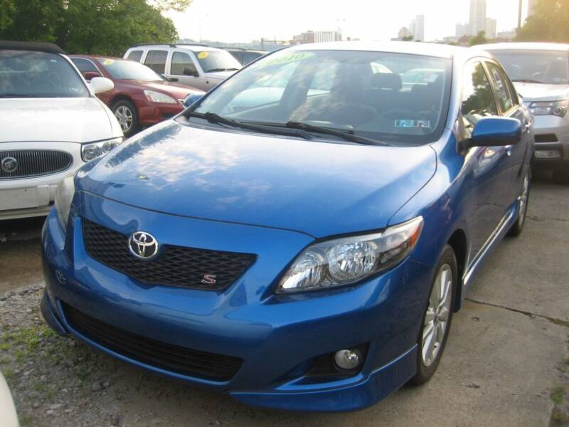 2010 Toyota Corolla for sale at B. Fields Motors, INC in Pittsburgh PA