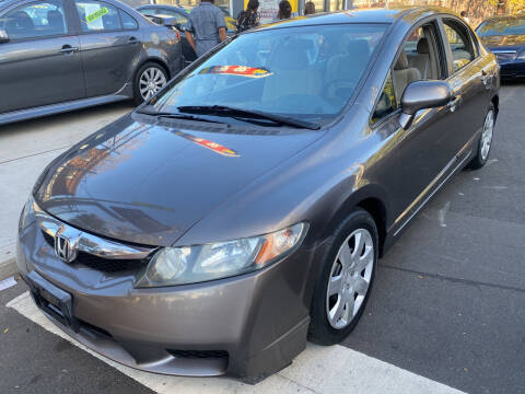 2009 Honda Civic for sale at DEALS ON WHEELS in Newark NJ
