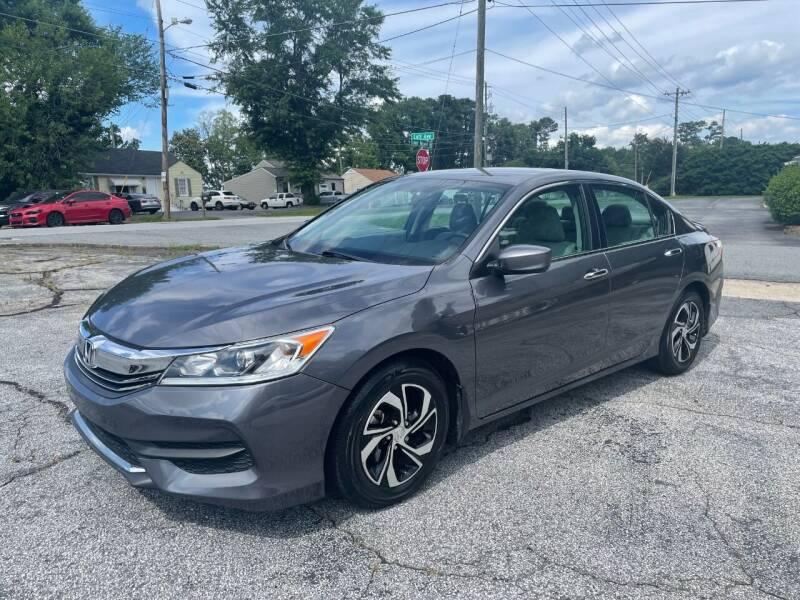 2017 Honda Accord for sale at RC Auto Brokers, LLC in Marietta GA