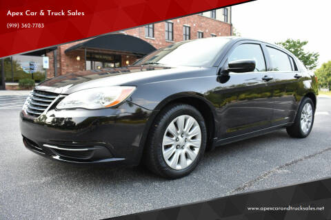 2014 Chrysler 200 for sale at Apex Car & Truck Sales in Apex NC