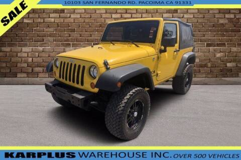 2008 Jeep Wrangler for sale at Karplus Warehouse in Pacoima CA