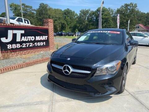 2014 Mercedes-Benz CLA for sale at J T Auto Group in Sanford NC