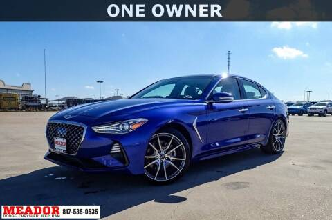 2019 Genesis G70 for sale at Meador Dodge Chrysler Jeep RAM in Fort Worth TX