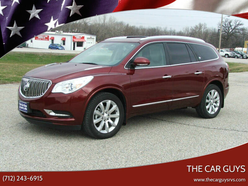 2016 Buick Enclave for sale at The Car Guys in Atlantic IA