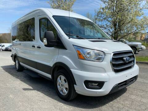 2020 Ford Transit Passenger for sale at HERSHEY'S AUTO INC. in Monroe NY