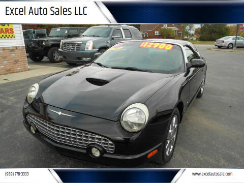 2003 Ford Thunderbird for sale at Excel Auto Sales LLC in Kawkawlin MI
