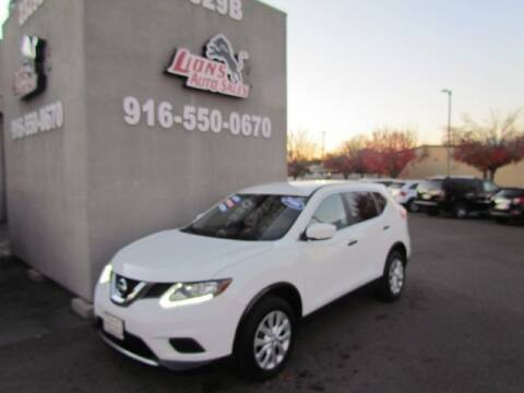 2016 Nissan Rogue for sale at LIONS AUTO SALES in Sacramento CA