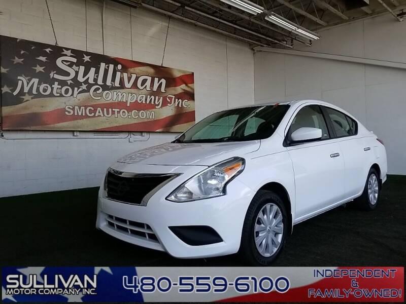 2015 Nissan Versa for sale at SULLIVAN MOTOR COMPANY INC. in Mesa AZ