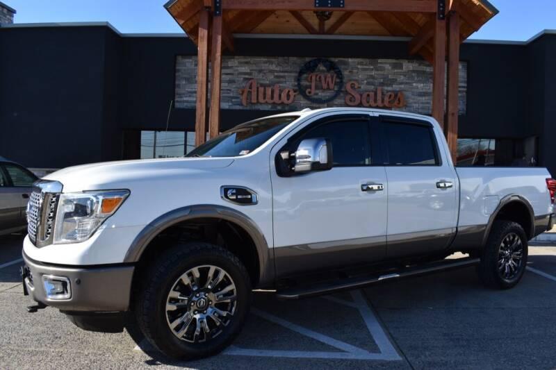 2016 Nissan Titan XD for sale at JW Auto Sales LLC in Harrisonburg VA