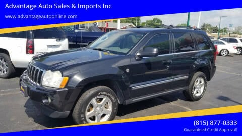 2005 Jeep Grand Cherokee for sale at Advantage Auto Sales & Imports Inc in Loves Park IL