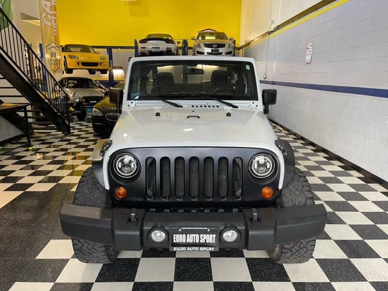 2011 Jeep Wrangler for sale at Euro Auto Sport in Chantilly VA