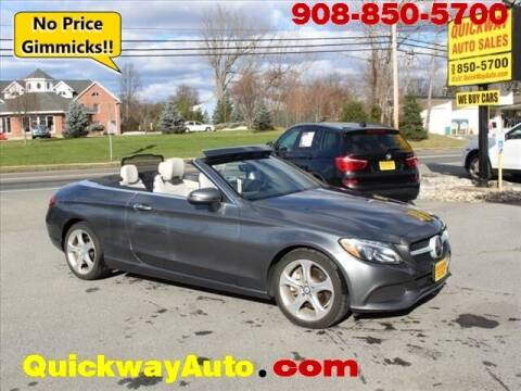 2017 Mercedes-Benz C-Class for sale at Quickway Auto Sales in Hackettstown NJ
