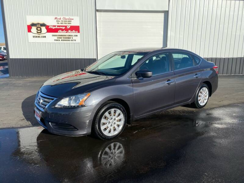 2014 Nissan Sentra for sale at Highway 9 Auto Sales - Visit us at usnine.com in Ponca NE