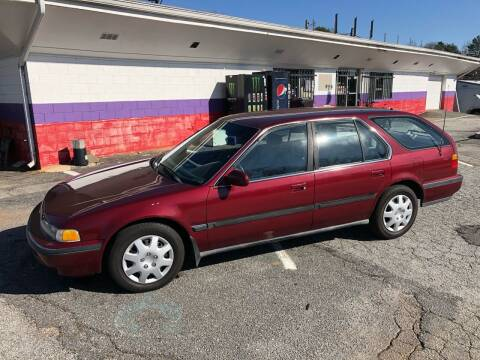 1992 Honda Accord for sale at Rick's Cycle in Valdese NC