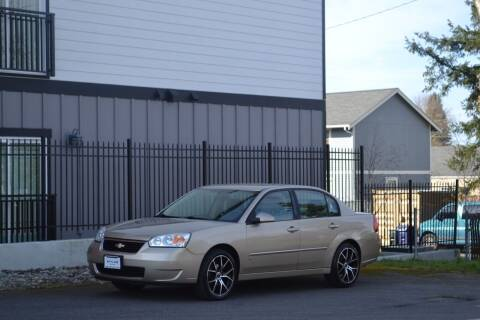 2007 Chevrolet Malibu for sale at Skyline Motors Auto Sales in Tacoma WA
