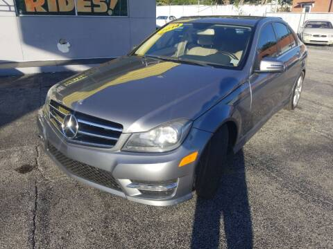 2014 Mercedes-Benz C-Class for sale at Castle Used Cars in Jacksonville FL