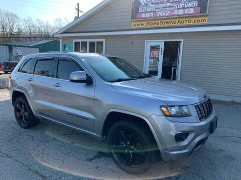 2015 Jeep Grand Cherokee for sale at Home Towne Auto Sales in North Smithfield RI