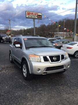 2008 Nissan Armada for sale at MARLAR AUTO MART SOUTH in Oneida TN