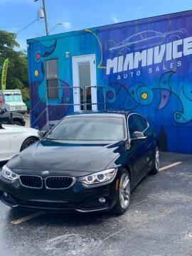 2017 BMW 4 Series for sale at Miami Vice Auto Sales in Miami FL