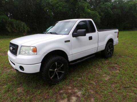 2008 Ford F-150 for sale at TIMBERLAND FORD in Perry FL