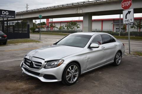 2015 Mercedes-Benz C-Class for sale at STS Automotive - Miami, FL in Miami FL