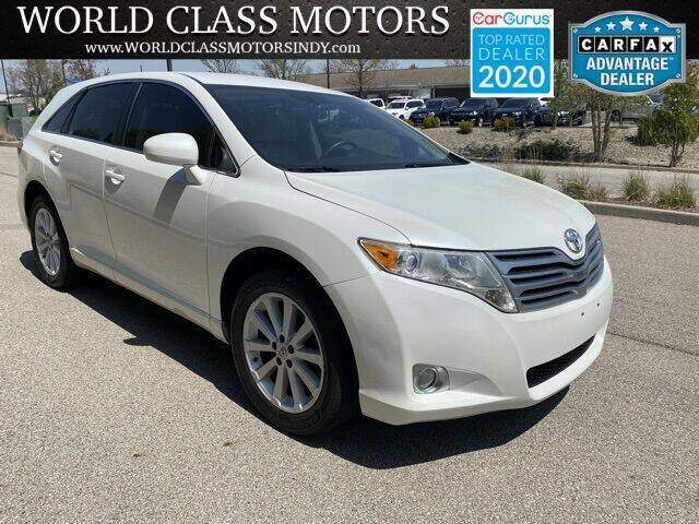 2012 Toyota Venza for sale at World Class Motors LLC in Noblesville IN