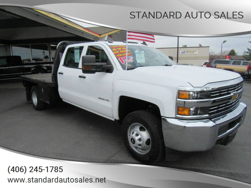 2017 Chevrolet Silverado 3500HD CC for sale at Standard Auto Sales in Billings MT