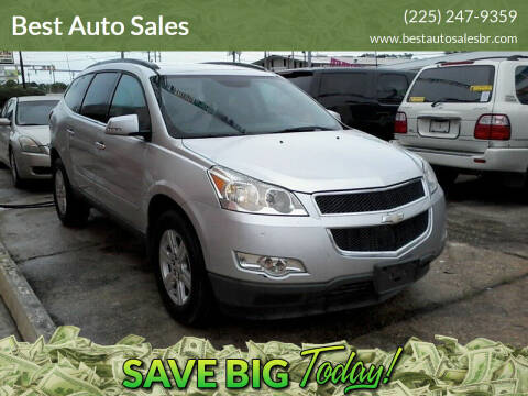 2012 Chevrolet Traverse for sale at Best Auto Sales in Baton Rouge LA