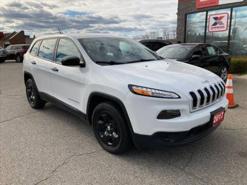 2017 Jeep Cherokee for sale at AutoCredit SuperStore in Lowell MA