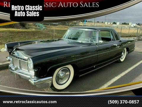 1956 Lincoln Mark ll for sale at Retro Classic Auto Sales - Classic Cars in Spangle WA