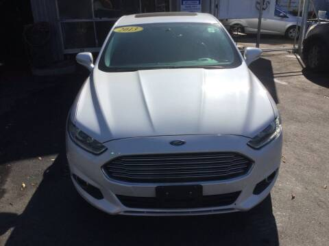 2013 Ford Fusion for sale at Olsi Auto Sales in Worcester MA