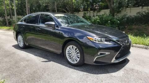 2016 Lexus ES 350 for sale at DELRAY AUTO MALL in Delray Beach FL