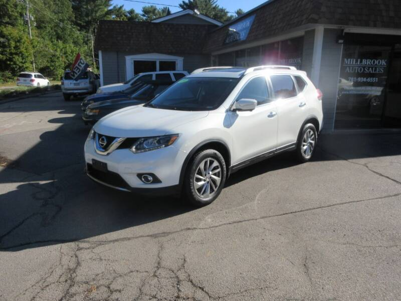 2015 Nissan Rogue for sale at Millbrook Auto Sales in Duxbury MA