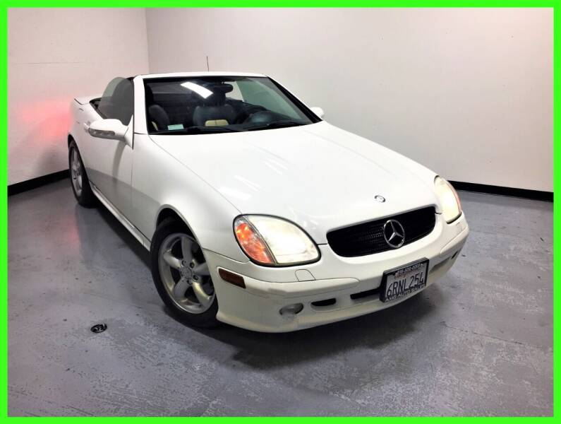 2001 Mercedes-Benz SLK for sale at AMG Auto Sales in Rancho Cordova CA