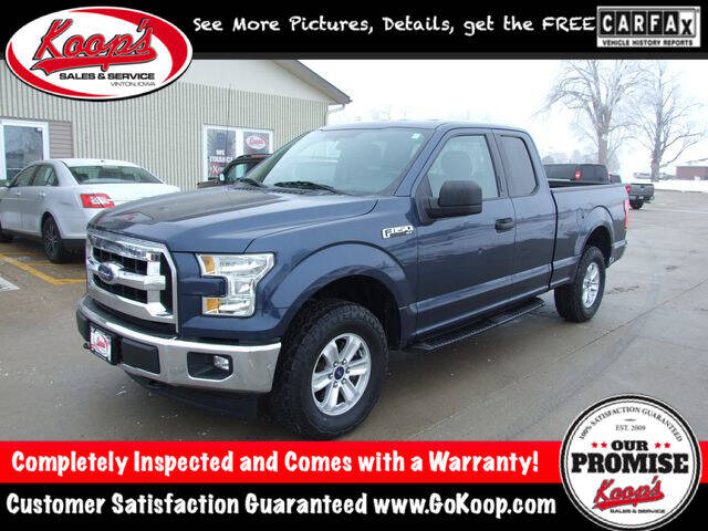 2017 Ford F-150 for sale at Koop's Sales and Service in Vinton IA