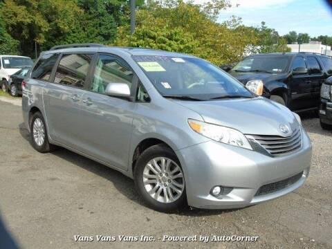 2011 Toyota Sienna for sale at Vans Vans Vans INC in Blauvelt NY